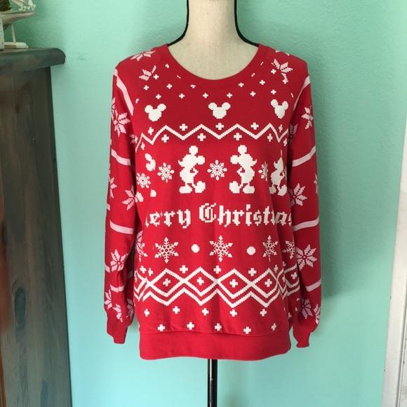 Disney Ugly Christmas Sweater.Disney Ugly Christmas Sweater
